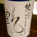 立ち飲み じんべえ - メニューにない裏日本酒