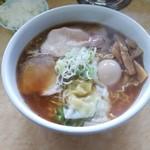 あお鬼 - 料理写真:特製らーめん 大(2.0) ライス小