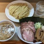 らぁ麺 蒼空 - 料理写真:特製つけめん(麺大盛り)