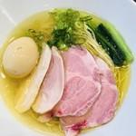 麺や福はら - 特製芳醇鶏そば塩