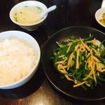 泰興楼 - 青椒肉絲定食