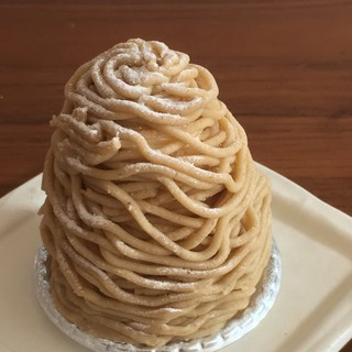 パティスリー ルミナス - 料理写真:和栗のモンブラン
