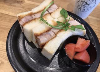 チーズガーデン 那須本店 - ポークロースカツサンド