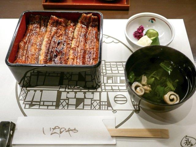 神泉いちのやの料理の写真