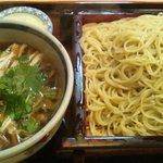 9316123 - 肉南:つけ蕎麦(中盛)700円