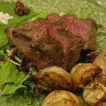 時分時 - 淡路牛カイノミのステーキ