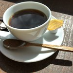 番屋カフェ - セットのコーヒー
