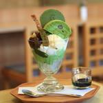 茶房AOI - 料理写真:SABO 葵のパフェ