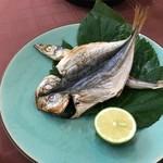 森のしずく - 料理写真:朝食焼き魚