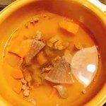 厚切りステーキたわらや - ビーフスープ