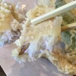 蕎麦処 みかわ - ふっくら食感の平目