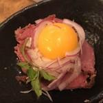 93167898 - 肉寿司のポテトサラダ