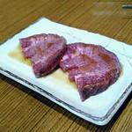焼肉食堂 リキ太郎 - 料理写真:1皿目牛タン