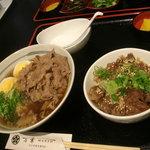 9317727 - テールスープの肉そば&ミニ牛すじ丼\1300