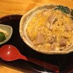 国分寺そば - ミニ親子丼700円