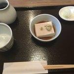 あしがら翁 - 胡麻豆腐からスタート