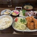 93173776 - さすけ食堂(千葉県富津市金谷)さすけ定食 1,500円
