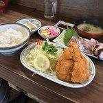 さすけ食堂 - さすけ食堂(千葉県富津市金谷)さすけ定食 1,500円