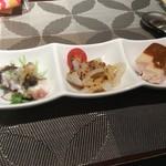 hoisam China TAKE - 前菜3種盛り 800円