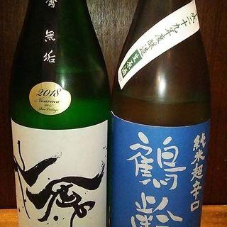 スタッフ厳選の日本酒をご用意!