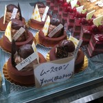 NOJI - 種類豊富なケーキ