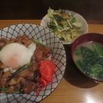 居酒屋 みかさ - ホルモン丼600円