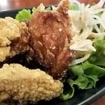 鶏Dining Bird Place - かりっと揚がっています