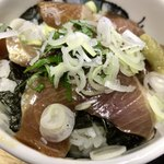 厚木へら鮒センター - 料理写真:ぶりの漬け丼