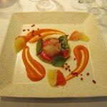 シャトン - 天然鯛のカルパッチョサラダ仕立て