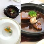 93180833 - 5周年特別記念ランチ…メイン料理(むら八伝統のビーフシチュー)