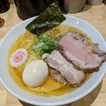 ふる川 - 料理写真:【2018/9】塩大盛+煮豚+味玉