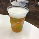 上野動物園 西園食堂 - 生ビール550円