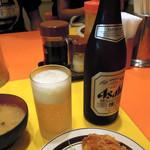 キッチンABC - 中瓶ビール550円