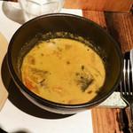 スパイスカフェ - 鯖、トマトの豆ベースカレー