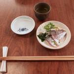 蕎麦 たじま - 蟹のお小皿〜夏ですネッ!