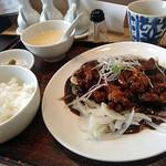 中国料理 香楽 - 黒酢酢豚ランチ