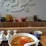 中国料理 香楽 - 担々麺とカウンター席