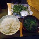 オーロラファームヴィレッジ - 山菜の天ぷらも香り良い
