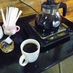 オーロラファームヴィレッジ - セルフでコーヒー