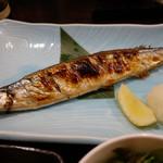 男爵亭 - 焼き秋刀魚