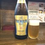 神田町 虎玄 - ビールで乾杯~\(^^)/