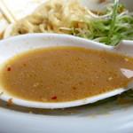 麺辰 - 担々麺(混ぜるとこうなります