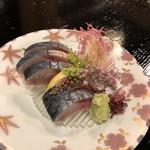 鰻割烹 伊豆栄 - しめ鯖