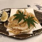 鰻割烹 伊豆栄 - 白魚の唐揚げ
