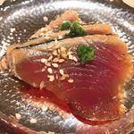 薄野 鮨金 - カツオ アップ