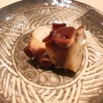 薄野 鮨金 - タコのやわらか煮 アップ