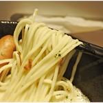 自家製麺 中華そば 多繋 - 弾力が心地イイ麺です。