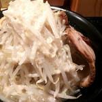 つけ麺 一翔 - 一翔ラーメン 背脂増量