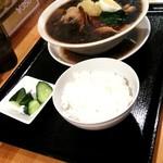つけ麺 一翔 - 友達の焼肉ラーメン
