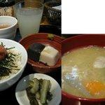 美噌元 - 胡麻豆腐セット